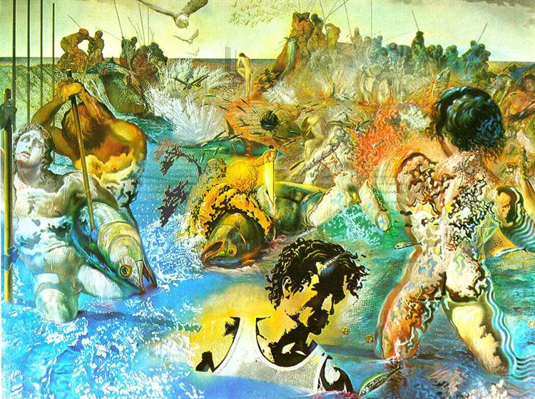 Tuna Fishing, 1966 - 1967 - Salvador Dali