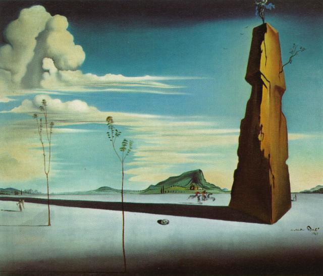 Untitled (Landscape), 1948 - Salvador Dali