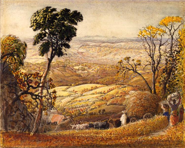 The Golden Valley - Samuel Palmer