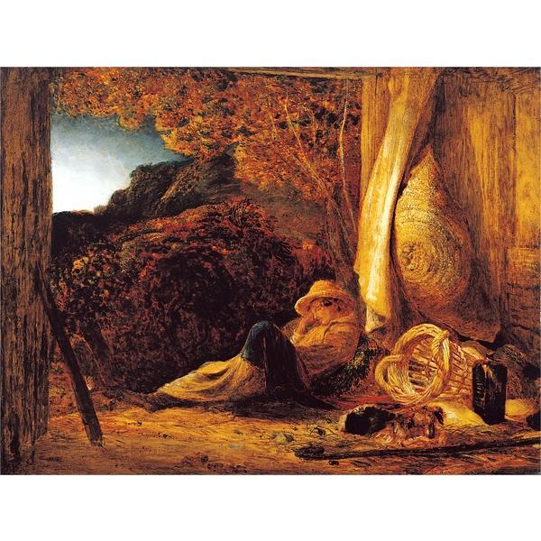 The Sleeping Shepherd, 1830 - Samuel Palmer