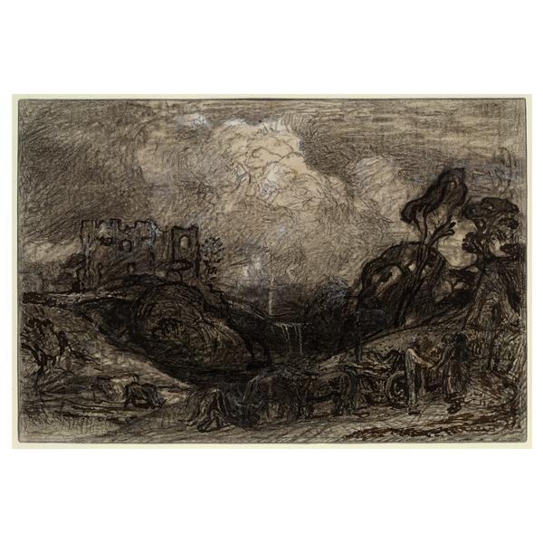 Virgil's Eclogue III 'Tis Gentle Phillis', 1883 - Samuel Palmer