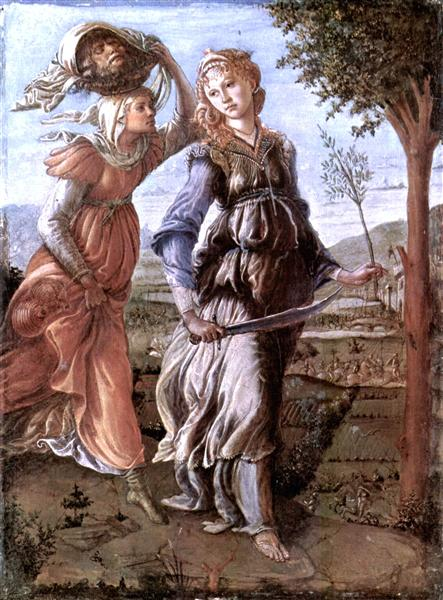 The return of Judith to Bethulia, 1472 - 1473 - Sandro Botticelli