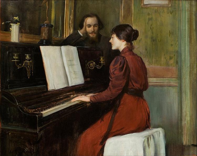 A Romance, 1894 - Santiago Rusinol