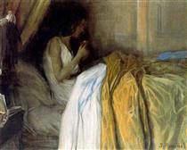 Before the Morphine - Santiago Rusiñol