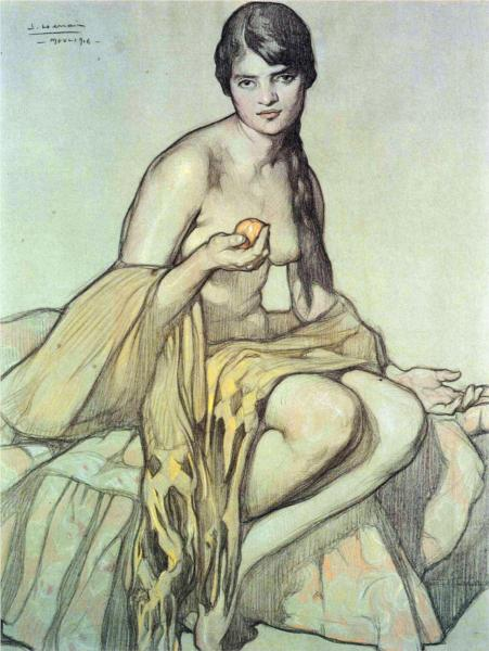 El rebozo, 1916 - Saturnino Herrán Guinchard