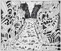 Canal Street - Saul Steinberg