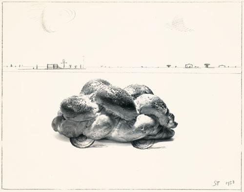 Car, 1953 - Saul Steinberg