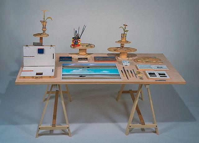 Summer Table, 1981 - Saul Steinberg