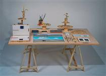 Summer Table - Saul Steinberg