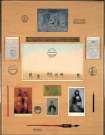 The Politecnico Table - Saul Steinberg