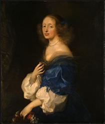Portrait of Ebba Sparre - Sébastien Bourdon
