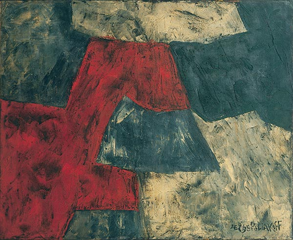 Composition, 1958 - Serge Poliakoff