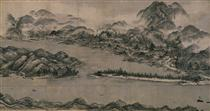 View of Ama-no-Hashidate - Sesshu Toyo