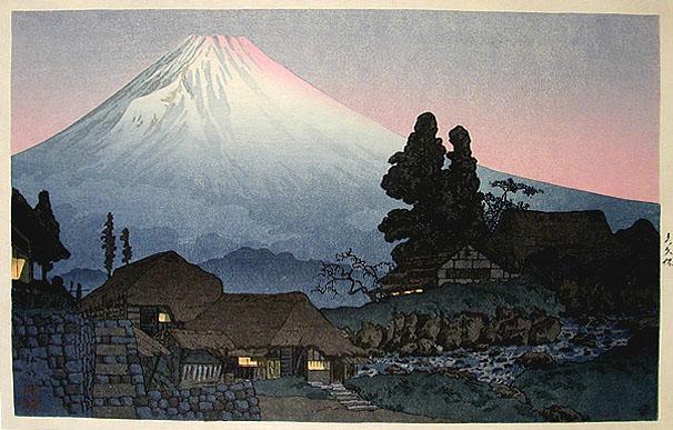 Fuji from Mizuchubo, 1936 - Shotei Takahashi