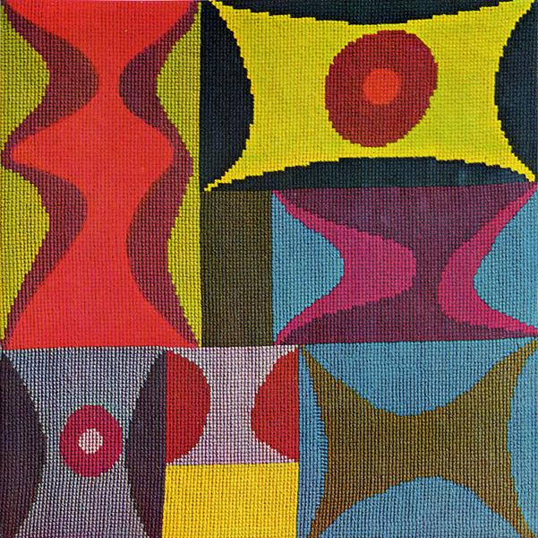 Elementary Forms, 1917 - Sophie Taeuber-Arp