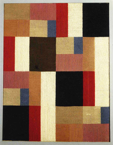 Vertical and horizontal composition, 1916 - Sophie Taeuber-Arp