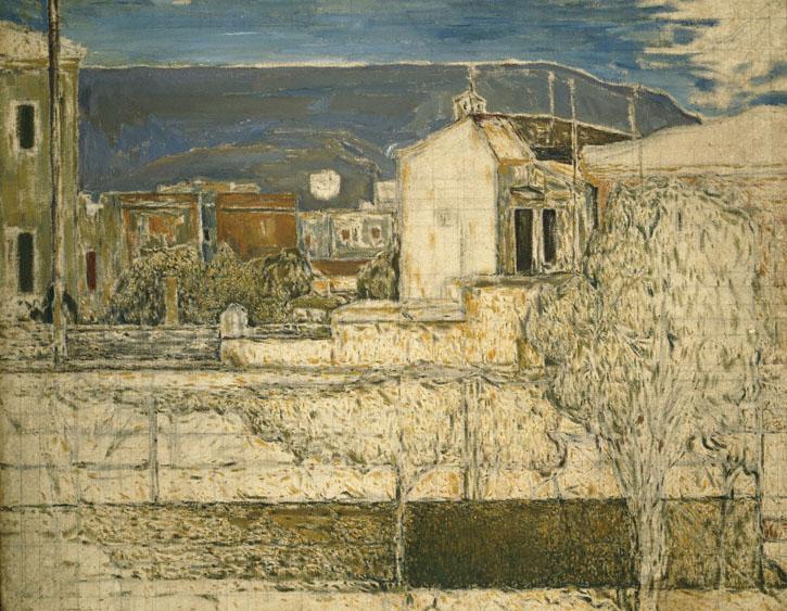Houses at Kypriadi, 1938 - Spyros Papaloukas