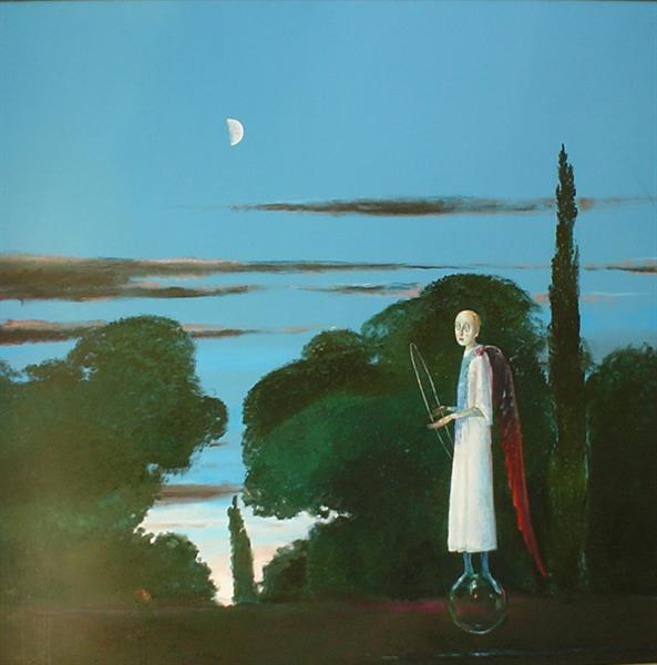 The Moon and the Poet, 2003 - Stefan Caltia