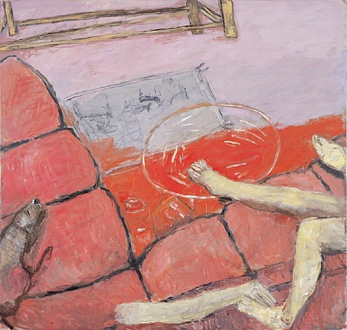 Pink Couch, 2003 - Susan Rothenberg