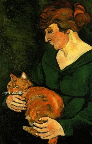 Louison and Raminou, 1920 - Suzanne Valadon