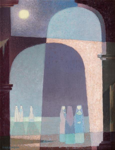 Den ljusa natten - Свен Джонсон