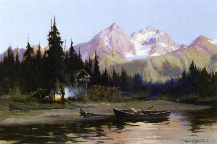 A Northern Frontier, 1914 - Sydney Laurence
