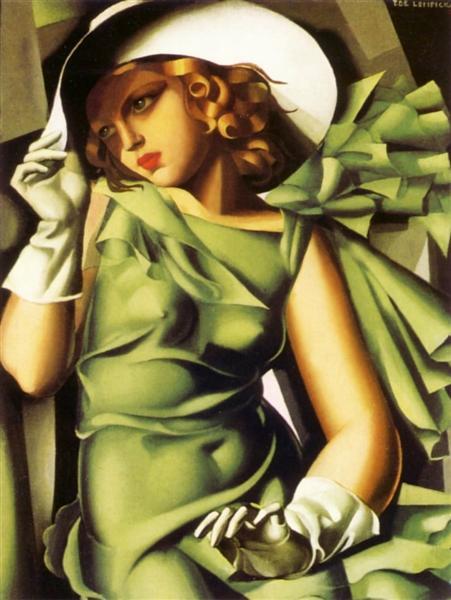 Girl with Gloves, 1929 - Tamara de Lempicka