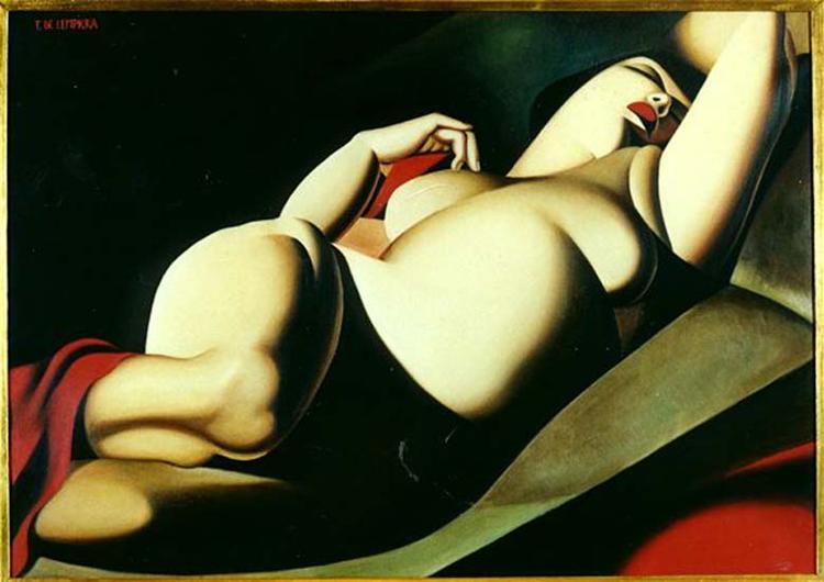 La Belle Rafaela, 1927 - Tamara de Lempicka