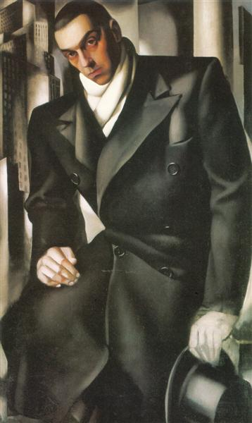 Portrait of a Man or Mr Tadeusz de Lempicki - Tamara de Lempicka