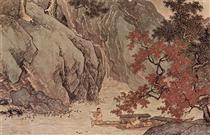 溪山漁隱 卷 - Tang Yin