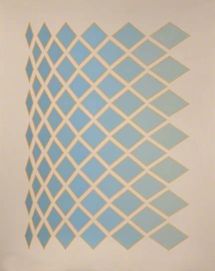Minaret, 1984 - Tess Jaray