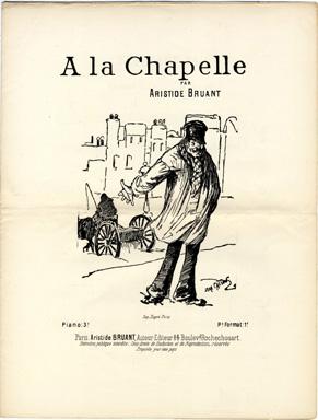 A La Chapelle - Théophile-Alexandre Steinlen