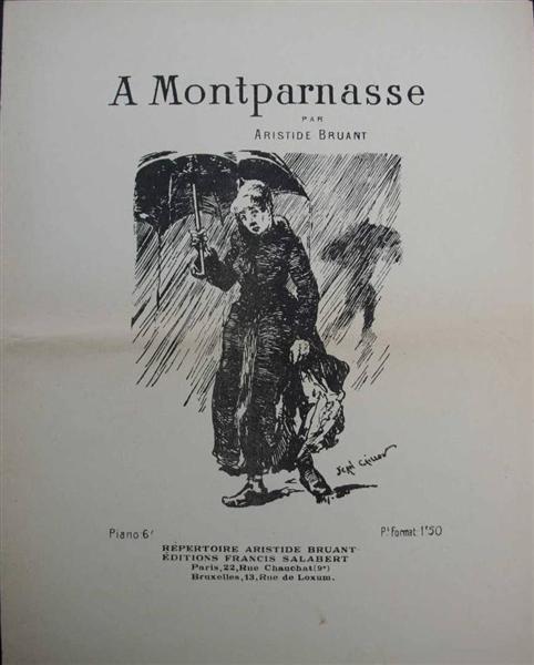 A Montparnasse, 1884 - Théophile Alexandre Steinlen