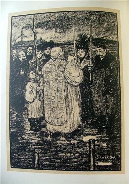Bapteme, 1907 - Теофиль Стейнлен