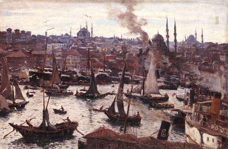Constantinople, 1905 - Талия Флора-Каравиа
