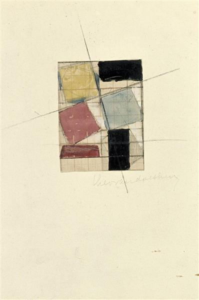 Composition (Study), 1930 - Theo van Doesburg