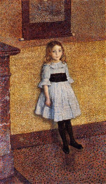 Little Denise, 1889 - Theo van Rysselberghe