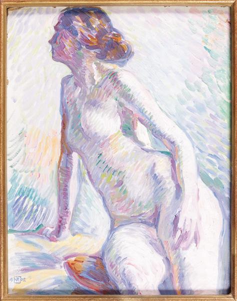 Nude, 1902 - Theo van Rysselberghe