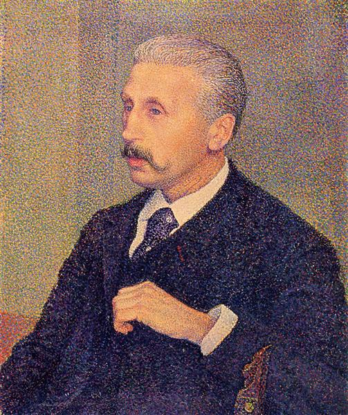 Portrait of the Painter's Uncle, 1894 - Theo van Rysselberghe