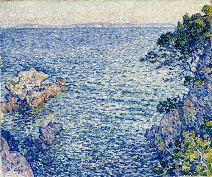 The Point of Rossignol, 1904 - Theo van Rysselberghe