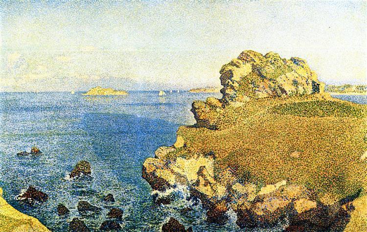 The Pointe de per Kiridec at Roscoff - Theo van Rysselberghe