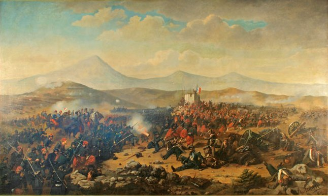 Battle of Alma - Theodor Aman