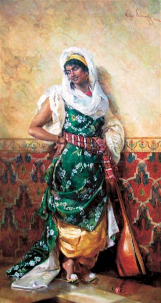 Odalisque - Theodor Aman