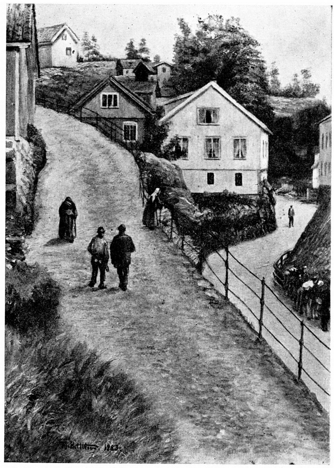 Gate I Krageroe
