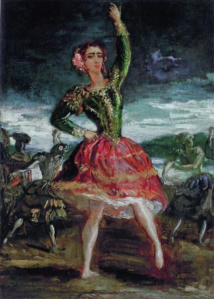 La Petra Camara, 1854 - Theodore Chasseriau