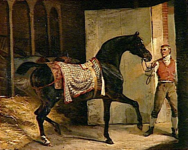 Horse leaving a Stable, 1810 - Théodore Géricault