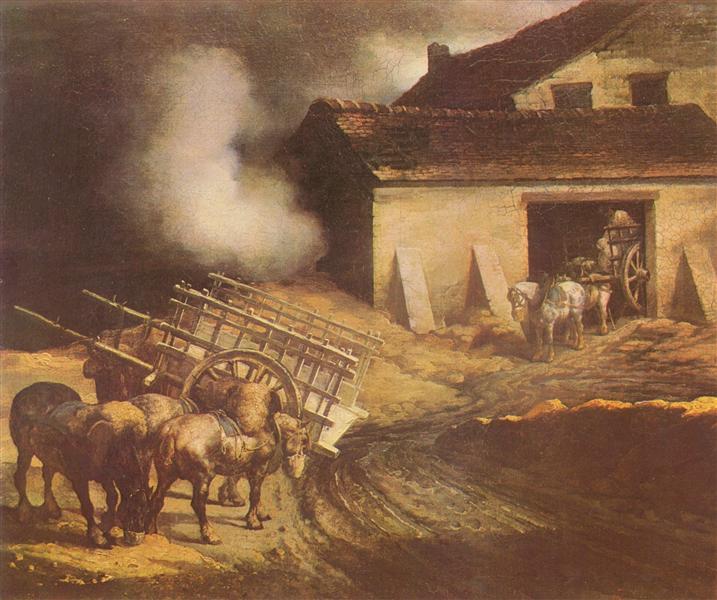 The Plaster Kiln, 1822 - 1823 - Théodore Géricault
