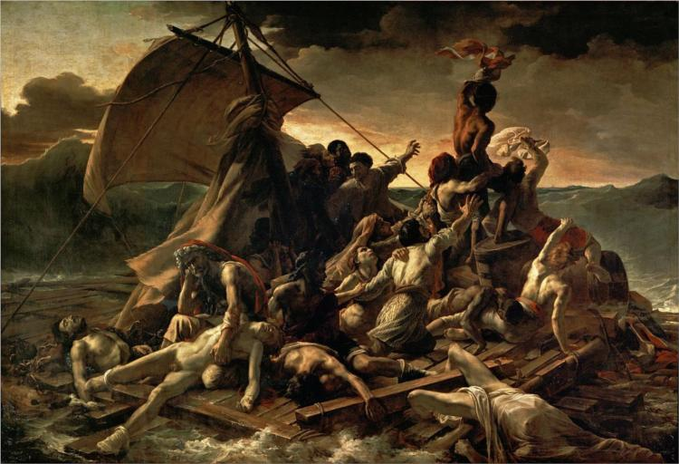 The Raft of the Medusa, 1818 - 1819 - Theodore Gericault
