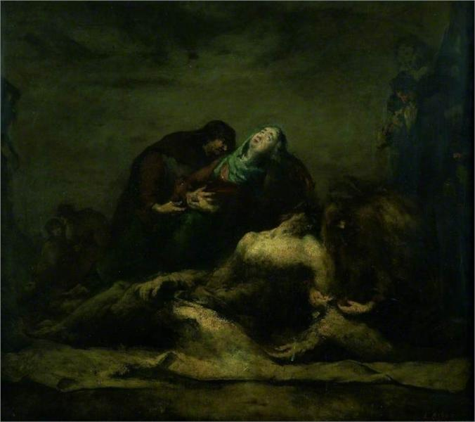 The Deposition from the Cross, 1870 - Theodule Ribot