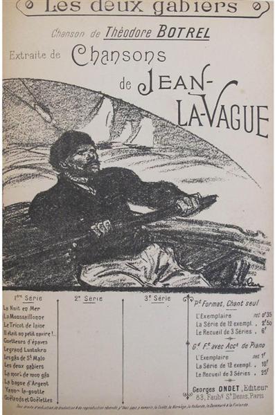 Chansons de Jean La Vague, 1892 - Theophile Steinlen